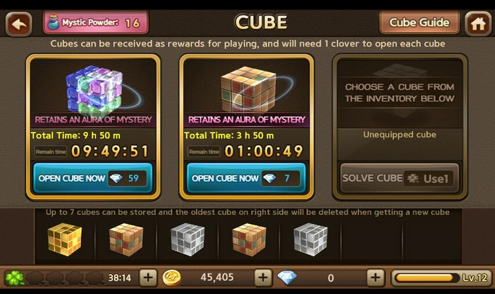 cube line get rich Cheat