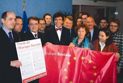 Larrouturou et le traité de l'Europe sociale