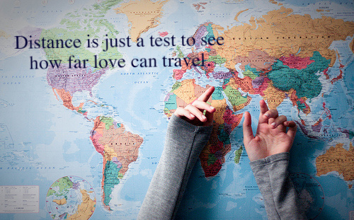 How Far Is Just a Test of Love Can Travel Distance