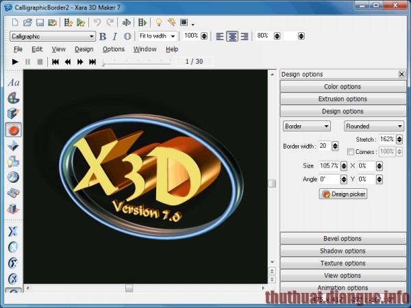 Download Xara 3D 7 Full Crack – Phần mềm tạo chữ 3D tuyệt đẹp
