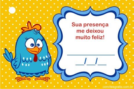 tag lembranca galinha pintadinha gratis imprimir