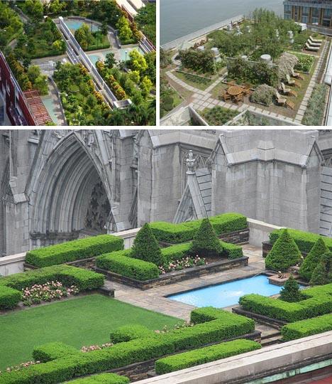 Flores y plantas en decoraciones de terrazas en new york for Decoracion de terrazas con plantas