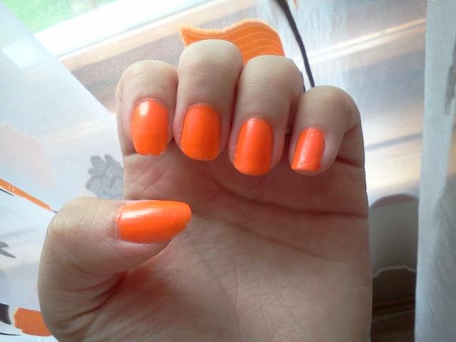 Wakacyjna pomarańczka:)