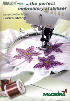 How to Use Avalon Madeira Embroidering Fabric?