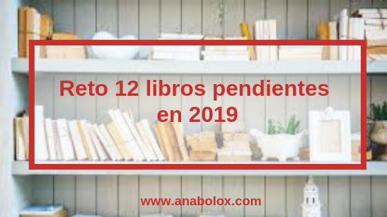 Reto 12 libros pendientes