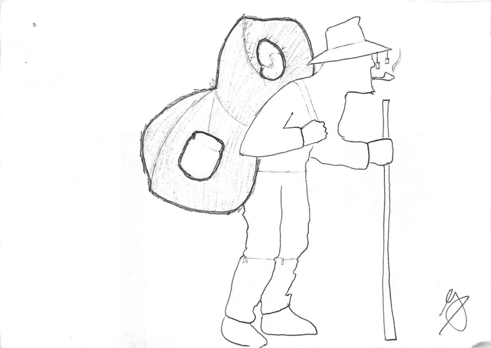 Waltzing matilda coloring pages