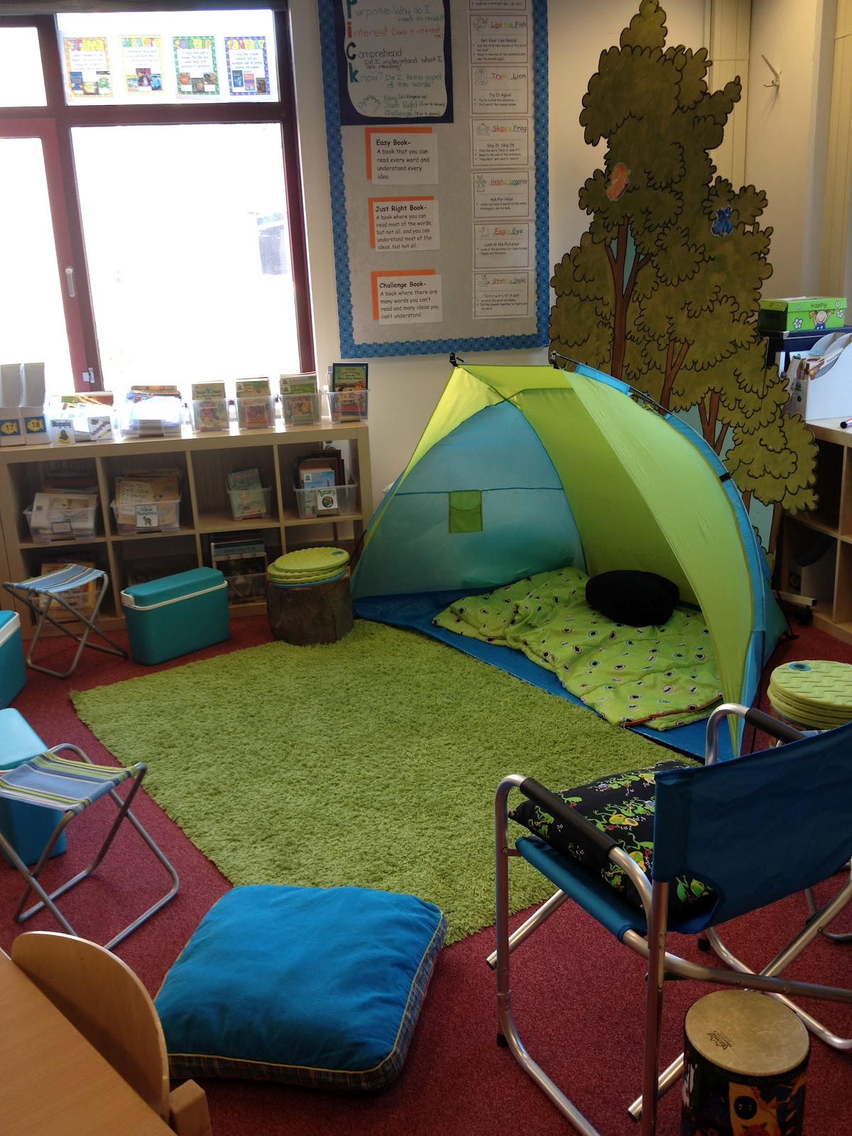 Classroom Decorating Ideas Camping Theme : Travelnteach camping class theme