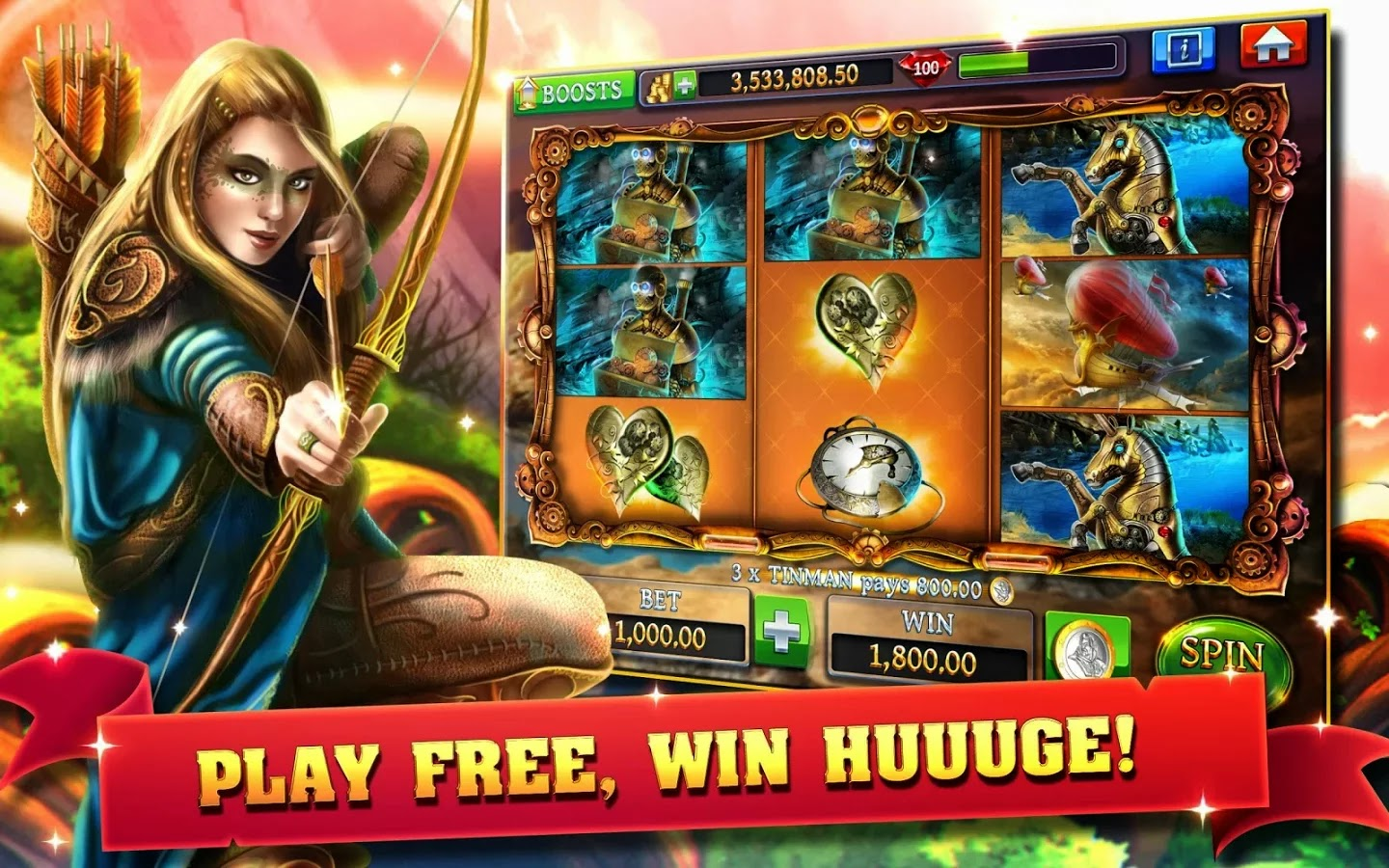 Slots - Journey of Magic HD+ | Download APK For Free ...