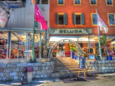 Beluga bar Villefranche frontage