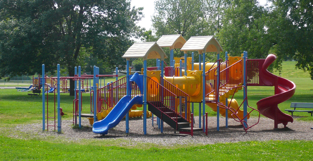 Backyard Playground Ground Cover : Playground ground cover wood chips, sand under swings