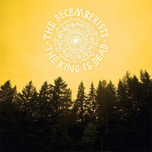 disco THE DECEMBERISTS - The king is dead