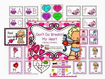 https://www.teacherspayteachers.com/Product/Dont-Go-Breakin-My-HeartLiteracy-Centers-1655763