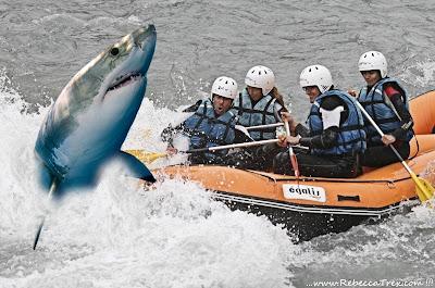 Discesa pericolosa  Morgex Rafting 2013 rebeccatrex