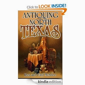 http://www.amazon.com/Antiquing-North-Texas-Antique-Markets-ebook/dp/B00BZC1NJY/ref=sr_1_1?s=books&ie=UTF8&qid=1389386135&sr=1-1&keywords=Antiquing+in+North+Texas