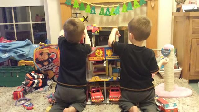 Twins at play