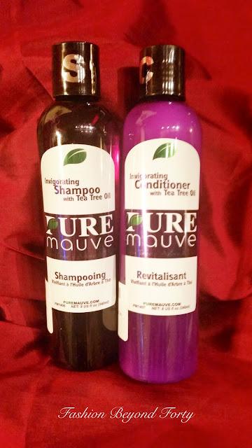 Pure Mauve Shampoo and Conditioner by Carapex is a Dream Come True