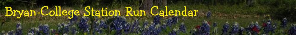 BCS Run Calendar