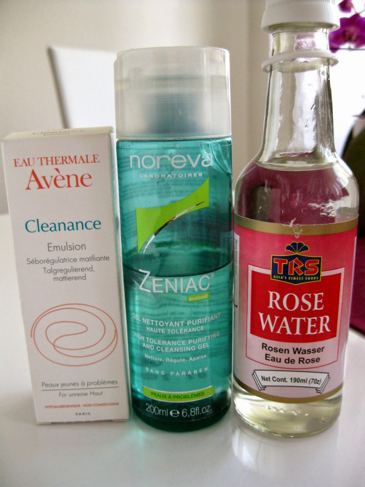 Noreva Zeniac, Avene Cleanance gegen Pickel