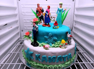 Gambar Kue Ulang Tahun Tema Frozen