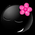 Emoticons Pretos em Png