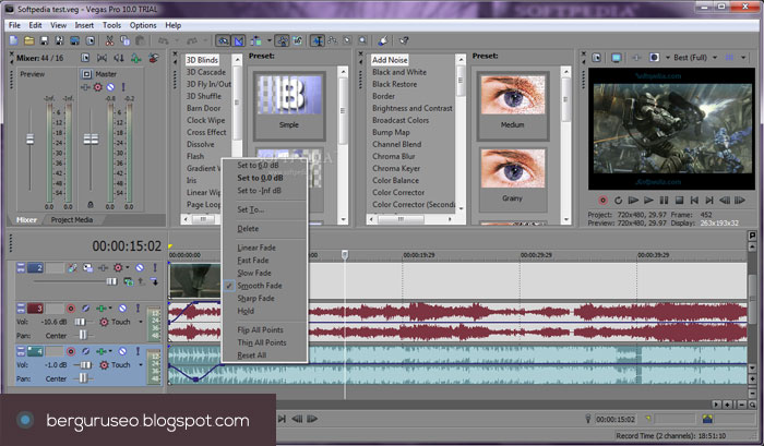 Aplikasi Edit Video Sony Vegas Pro