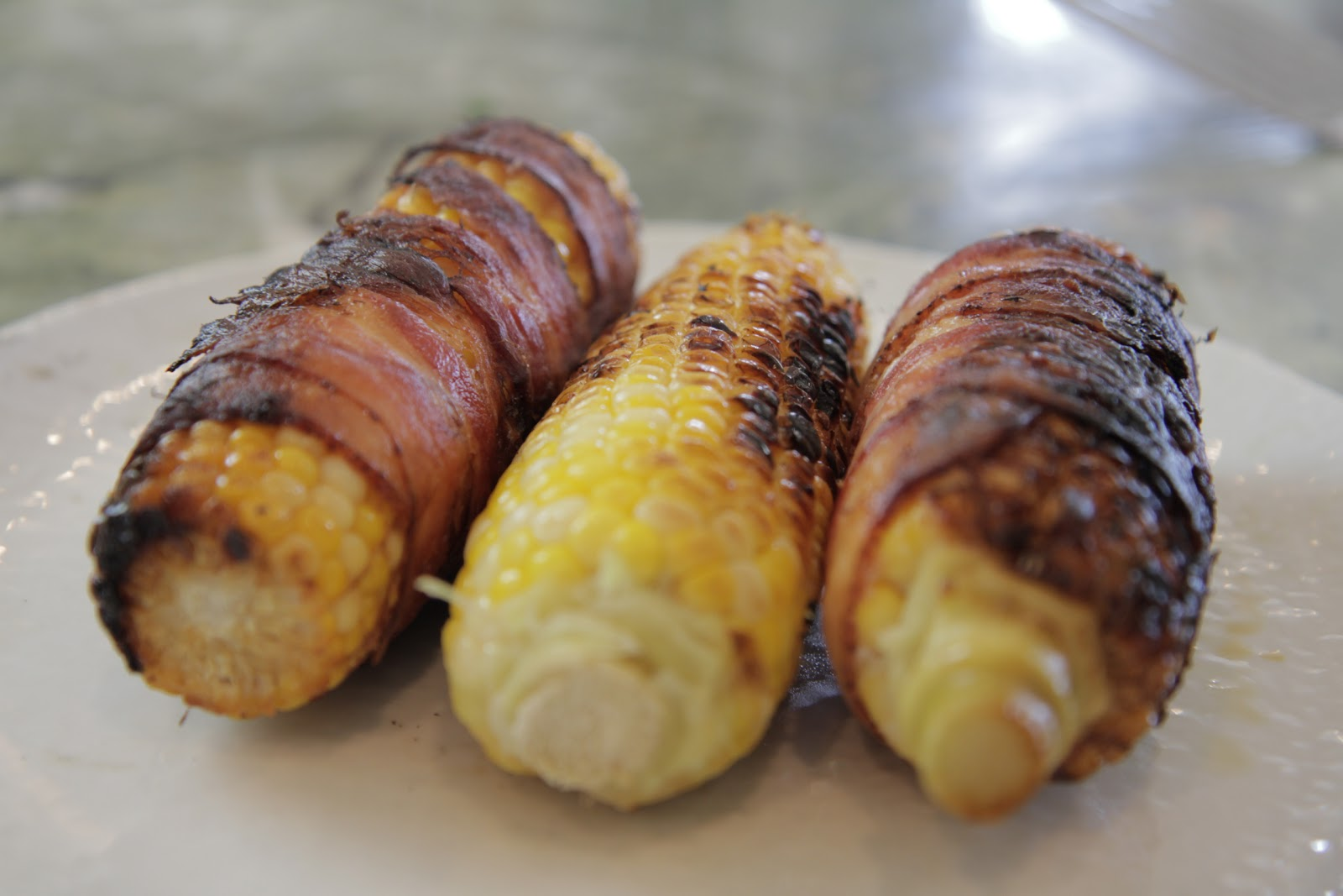 Grilled Bacon-Wrapped Corn On The Cob Recipe — Dishmaps