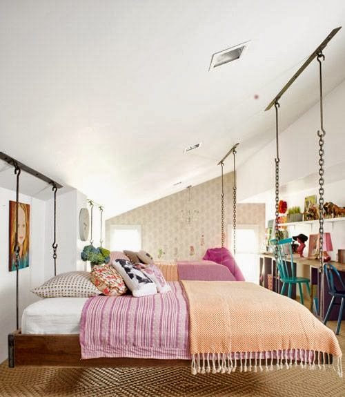 She Moves The Furniture: Dreaming Of A Hanging Bed