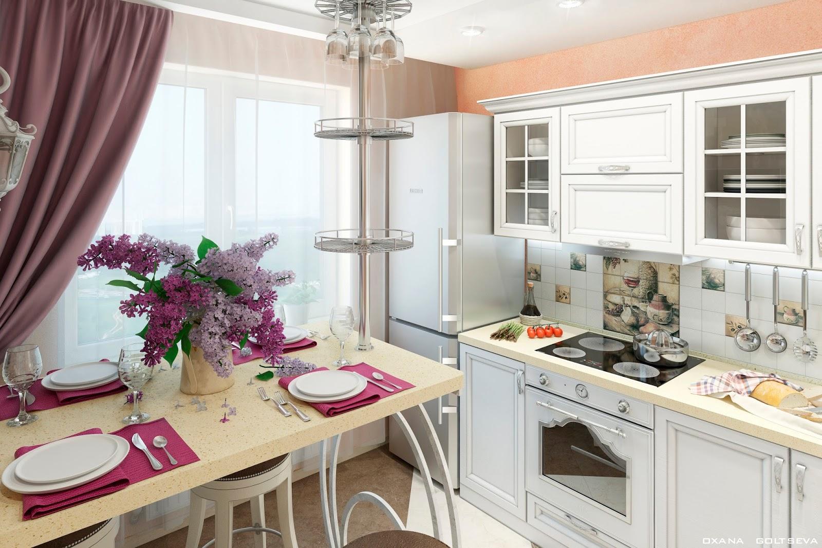 Кухни дизайн 3м