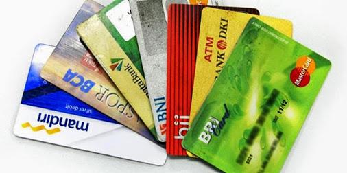 jenis kartu plastik bank