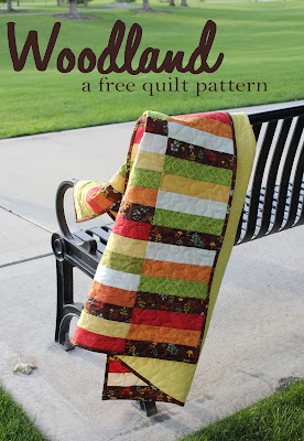 Woodland: a free quilt pattern from A Bright Corner