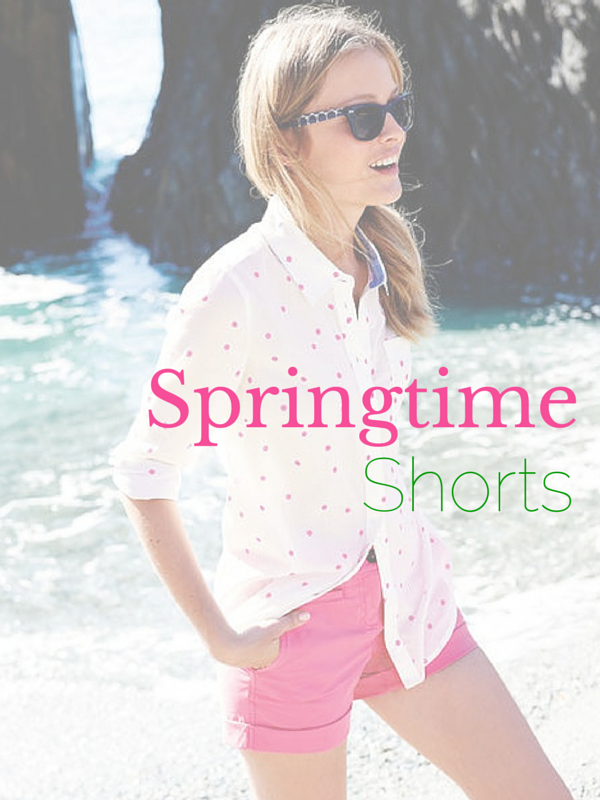 springtime shorts fashion guide