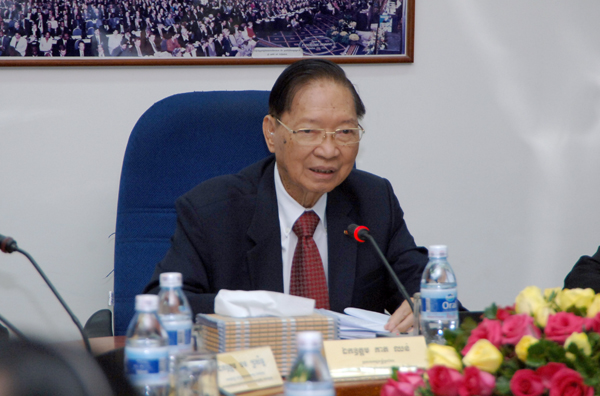 Keat Chhon, vice-Premier ministre permanent