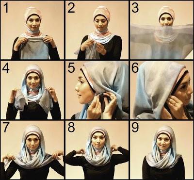 Foto model jilbab instan terbaru