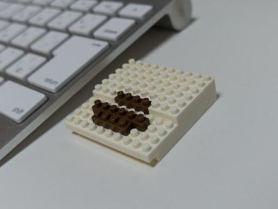 ナノブロックで作ったApple2