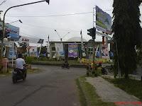Baliho di Pangandaran
