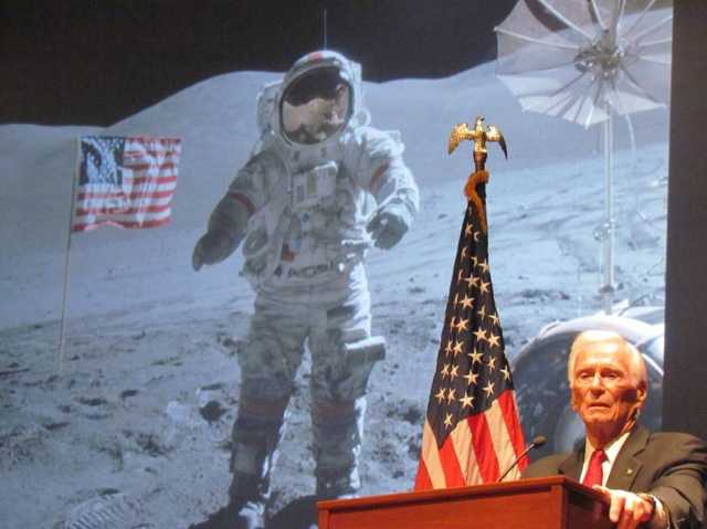 NASA Astronaut Gene Cernan: USA Already Went To Mars