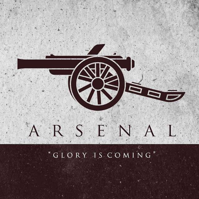Arsenal escudo juego de tronos - Juego de Tronos en los siete reinos