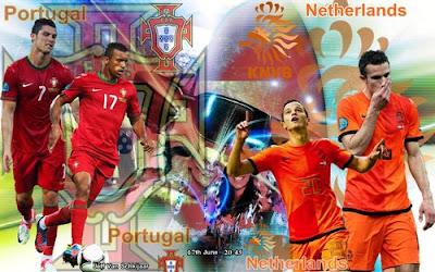 Résumé Portugal 2-1 Netherlands Buts goals euro 2012