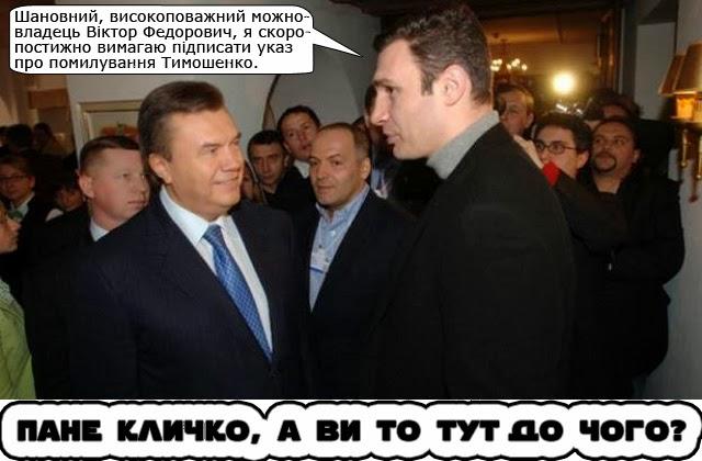 """У Кличко """"плохое предчувствие"""" по поводу скорого освобождения Тимошенко - Цензор.НЕТ 2215"""