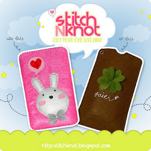StitchNknot's 2011 Year-End Giveaway!