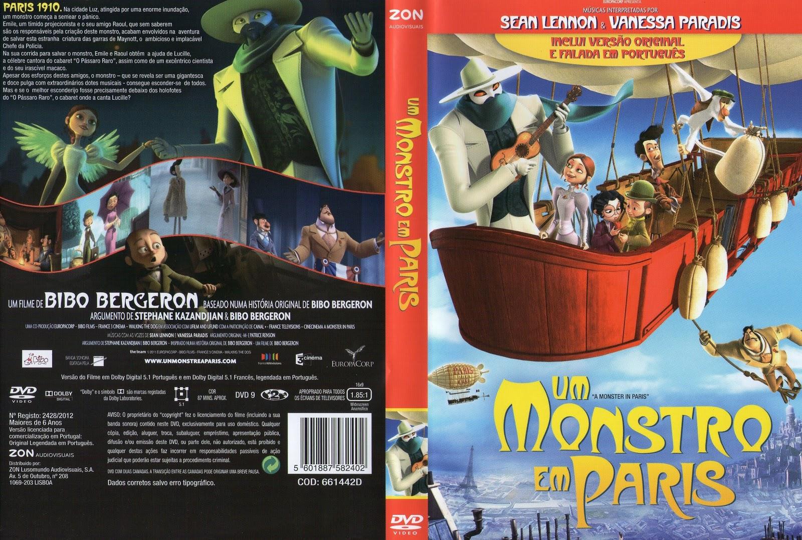 Um Monstro em Paris (2011) PT-PT CAPA