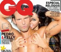 Pedro Guedes e Kelly Baron GQ Portugal Outubro 2013
