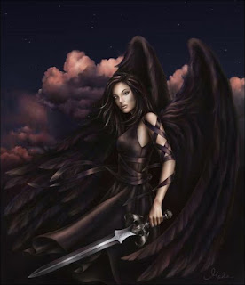 Warrior Angel of Death woman