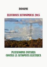 INFORME ELECCIONES AUTONÓMICAS 2015