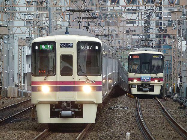 京王電鉄 急行 つつじヶ丘行き 9000系