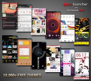 Buzz Launcher - Aplikasi Tema Android Terbaik