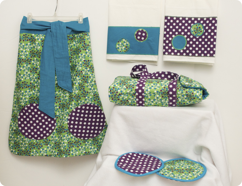Sew can do stock your stash the quilting goodies giveaway for Quilted kitchen set