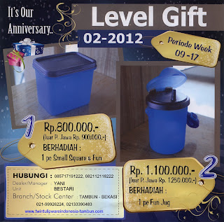 Level Gift Tulipware | Maret - April 2012
