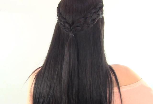 Secretos De Chicas.Es Peinados Semirecogidos - PEINADOS SEMIRECOGIDOS FÁCILES Secretos de Chicas