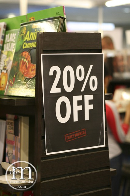 twenty percent off discount sign